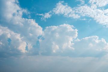 Sky with cloud