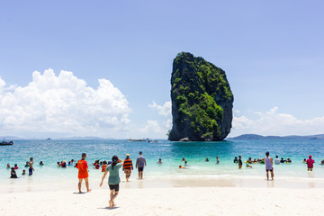 The Phi Phi Islands and dive sites in Thailand