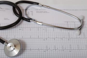 Stetoscopio con elettrocadiogramma