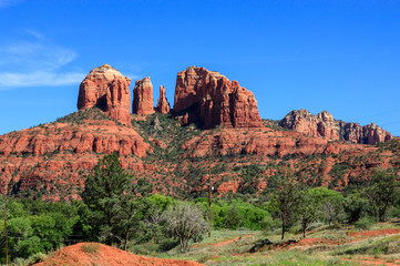 Cathedral Rock Formation in Sedona
