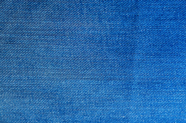Denim Texture as Background. Blank backdrop. Texture of blue jeans textile close up