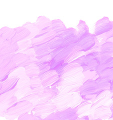 pale pastel rosy color acrylic paint brush stroke for background. hand drawn abstract illustration for header, greeting card, poster, wallpaper