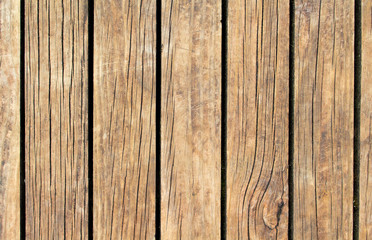 Vintage wood texture with vertical lines. Warm brown wooden background for natural banner.