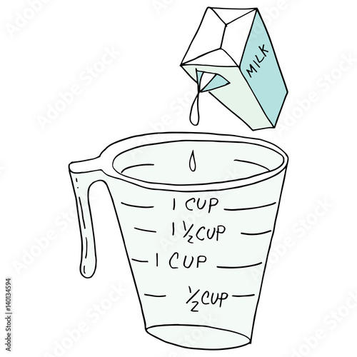 free measuring cup coloring pages - photo#6