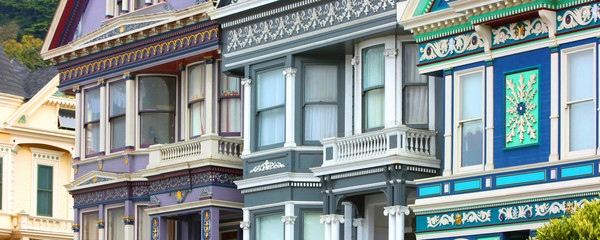 San Francisco / USA - Victorian Architecture