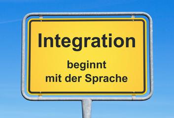 Integration beginnt mit der Sprache - Einwanderung und Sprachkurs