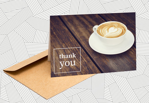 Thank You Card Layout