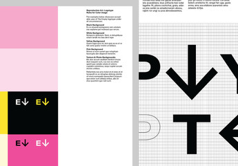 Skillful Brand Style Guide Layout