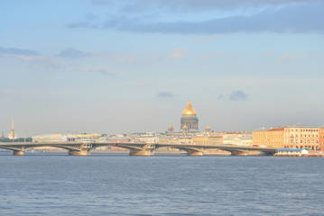 The English Embankment and The Annunciation Bridge.