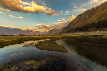 Nubra is a tri-armed valley located to the north east of Ladakh valley. Diskit the capital of Nubra is about 150 km north from Leh town