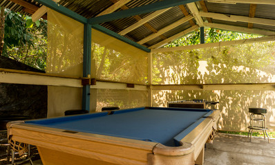 billiard outdoors