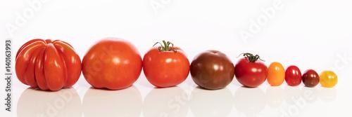 tomatensorten vor wei gro bis klein und viele farben stockfotos und lizenzfreie bilder auf. Black Bedroom Furniture Sets. Home Design Ideas