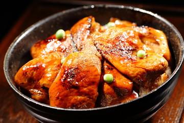 豚丼 Pork rice bowl