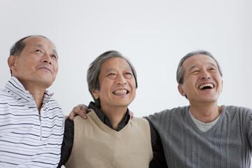 Portrait of Three Senior Men