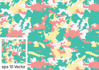 Seamless, Camouflage pattern vector