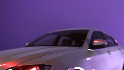 3D CGI Car