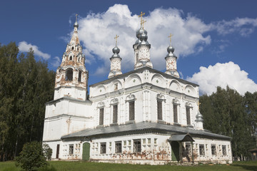 Church of the Transfiguration of the Savior-Transfiguration parish in the city of Veliky Ustyug, Vologda Region, Russia