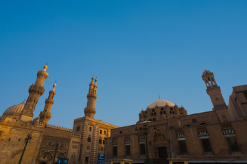 Al Azhar Madrasa Mosque University Cairo