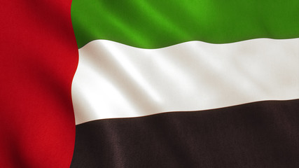UAE Flag - United Arab Emirates