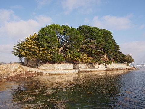 Sentier côtier de la Pointe d'Arradon