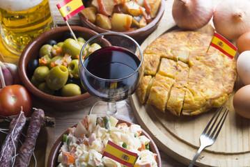 Ensaladilla Rusa (typical food in spanish)