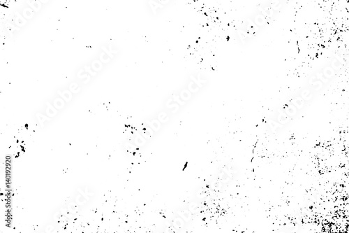Subtle Rustic Texture With Natural Noise And Grain Black Stains On Transparent Background