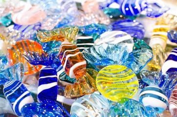caramelle di vetro di murano