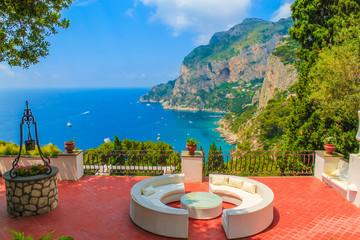 Wall Mural - Capri island, amalfi coast, Italy