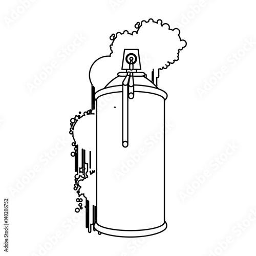Figure can aerosol sprays icon vector illustraction design fichi - Figure libre architecture ...