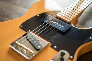 american electric guitar
