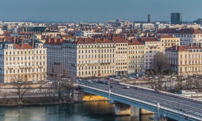 Bridge, city of Lyon France