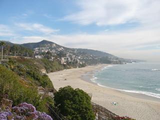 Wonderful Lagnua Beach in California