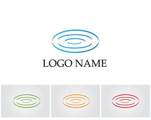 Water blue logo