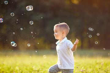 Cheerful childhood