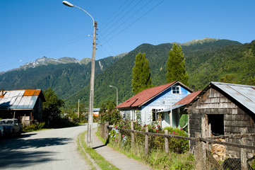 Puyuhuapi Town - Chile