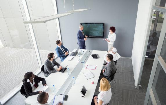 International meeting in company