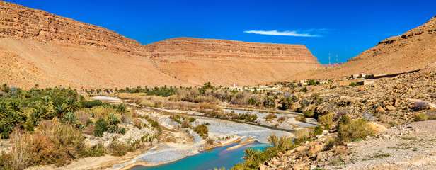 Landscape of Ziz Valley, Morocco
