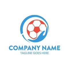 Soccer Unique Logo Template