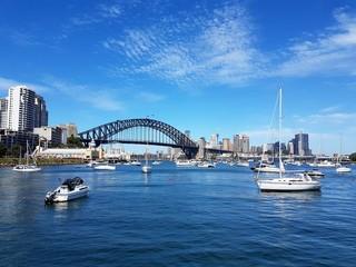 Fototapete - Lavender Bay, Sydney, Australie