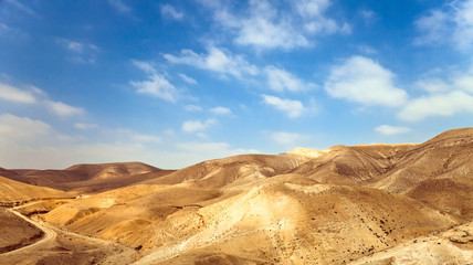 landscape on a south of Israel