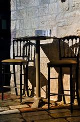 Straßencafé in  Kotor