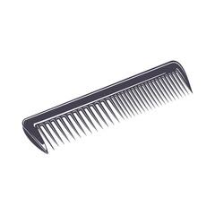 comb monochrome style