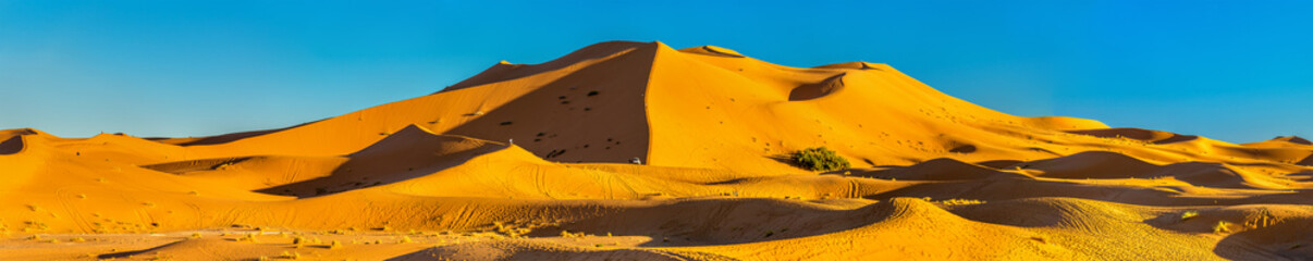 Dunes of Erg Chebbi near Merzouga in Morocco