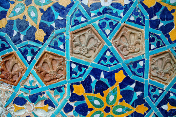 Islamic mosaic pattern