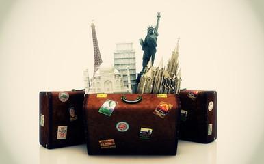 Viaggiare, Vacanze, Ferie, Agenzia Viaggi Intorno al mondo, vacanze in valigia, monumenti