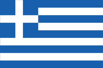 Amazing Greek flag