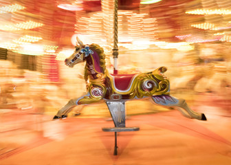 Horse carousel merry-go-round gallopers