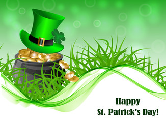 Abstract background for St. Patrick's Day
