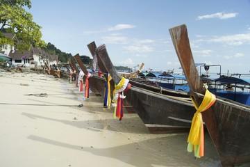 Row of Boat
