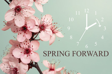 Spring Forward Fototapete